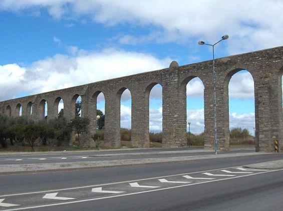 قناة إيفور-Evora.aqueduct