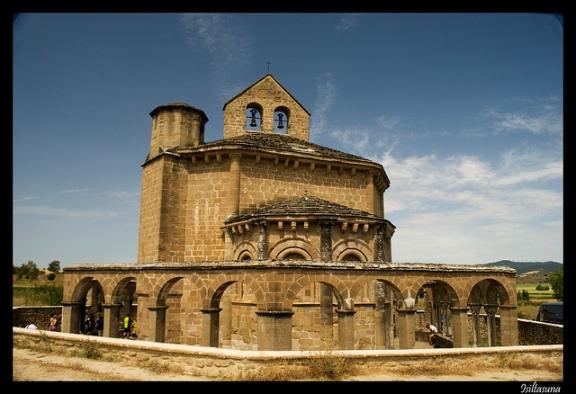 Iglesia de Santa María de Eunate (Navarra) _