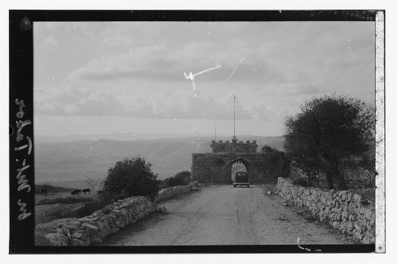Mt__Tabor-16146جبل طابور منظر قديم لمدخل الدير